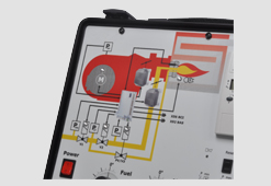 Schulungskoffer mit Elektronik und Simulation
