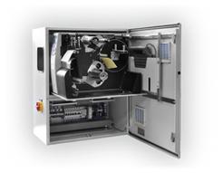 Labelprinter im Schaltschrank mit Auszug